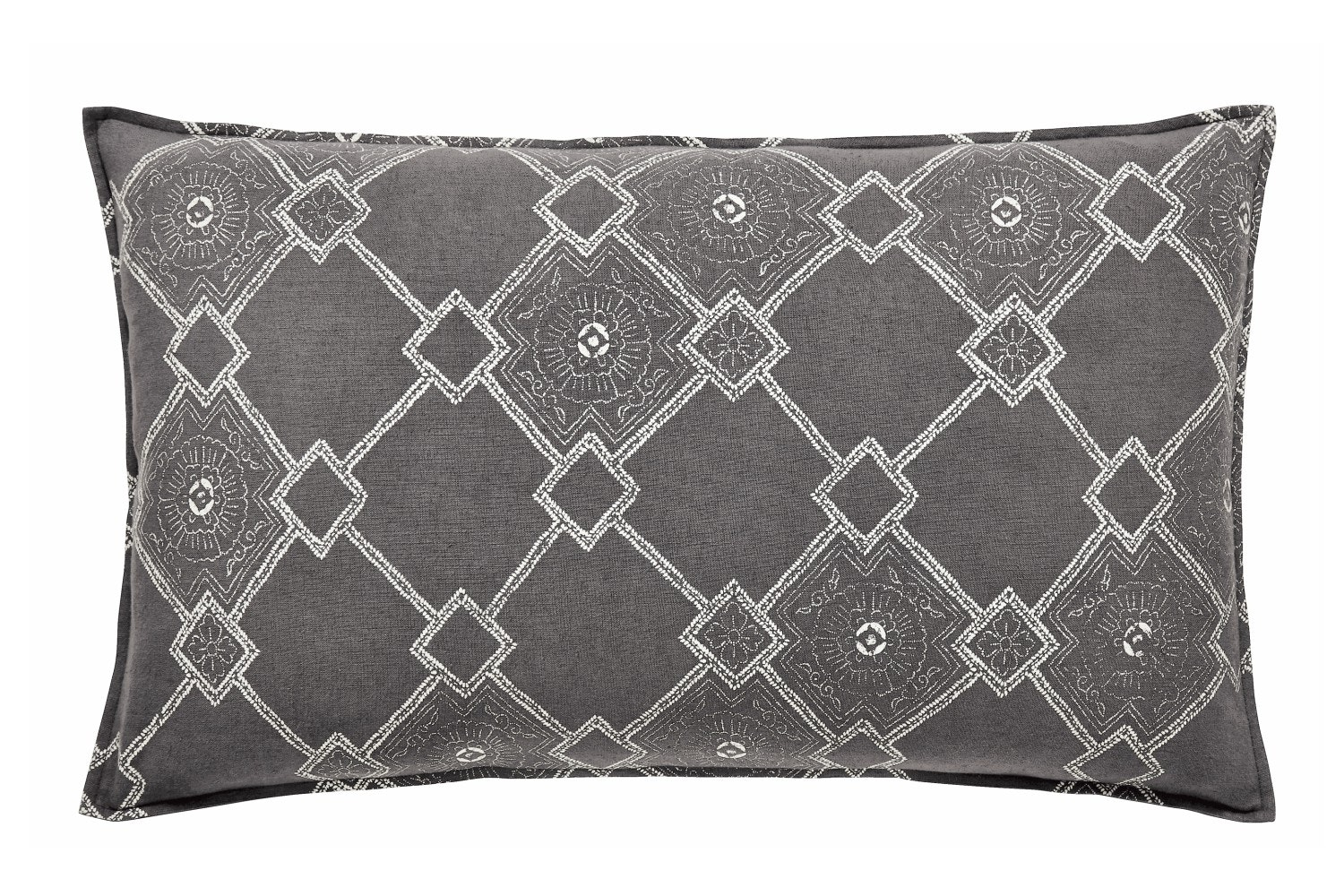 Murmur Batik Cushion Grey