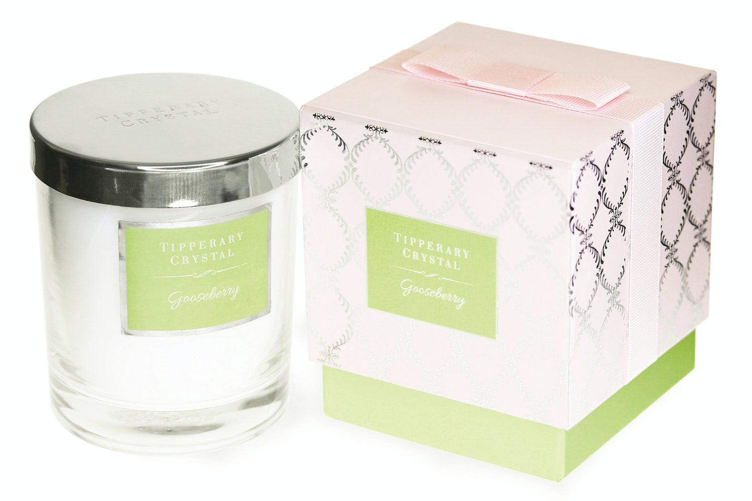 Tipperary Crystal Luxury Candle | Gooseberry