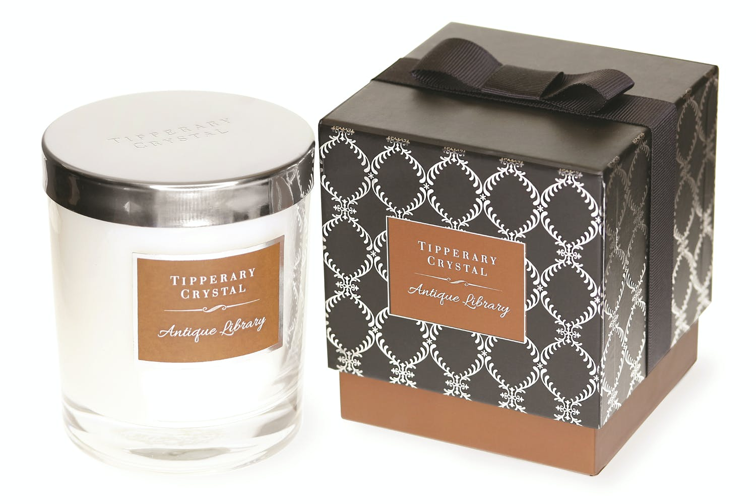 Tipperary Crystal Luxury Candle | Antique Library