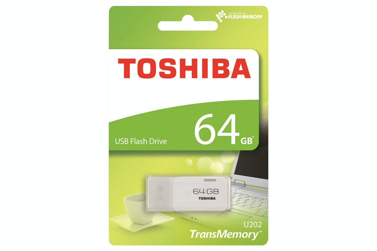 Toshiba 64GB USB Key | White
