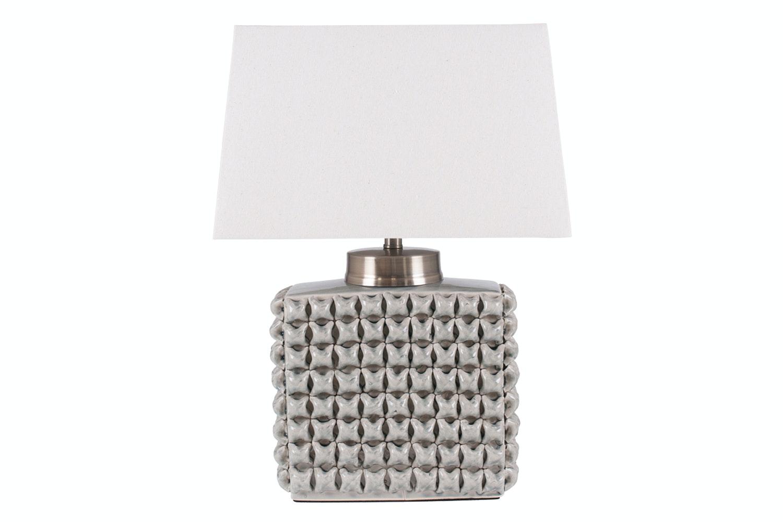 Cream Ceramic Table Lamp And Shade Ireland