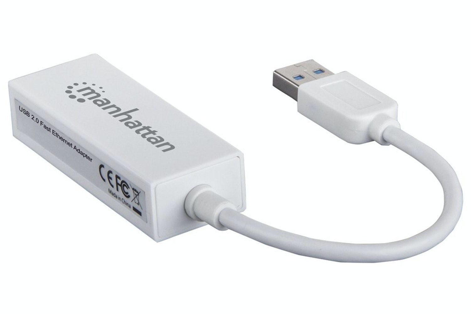 Manhattan USB 2.0 Fast Ethernet Adapter