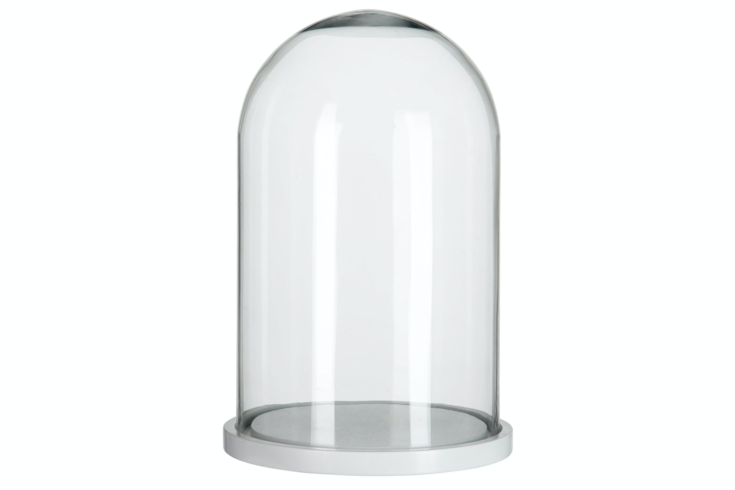 Glass Bell Round Dome | Small