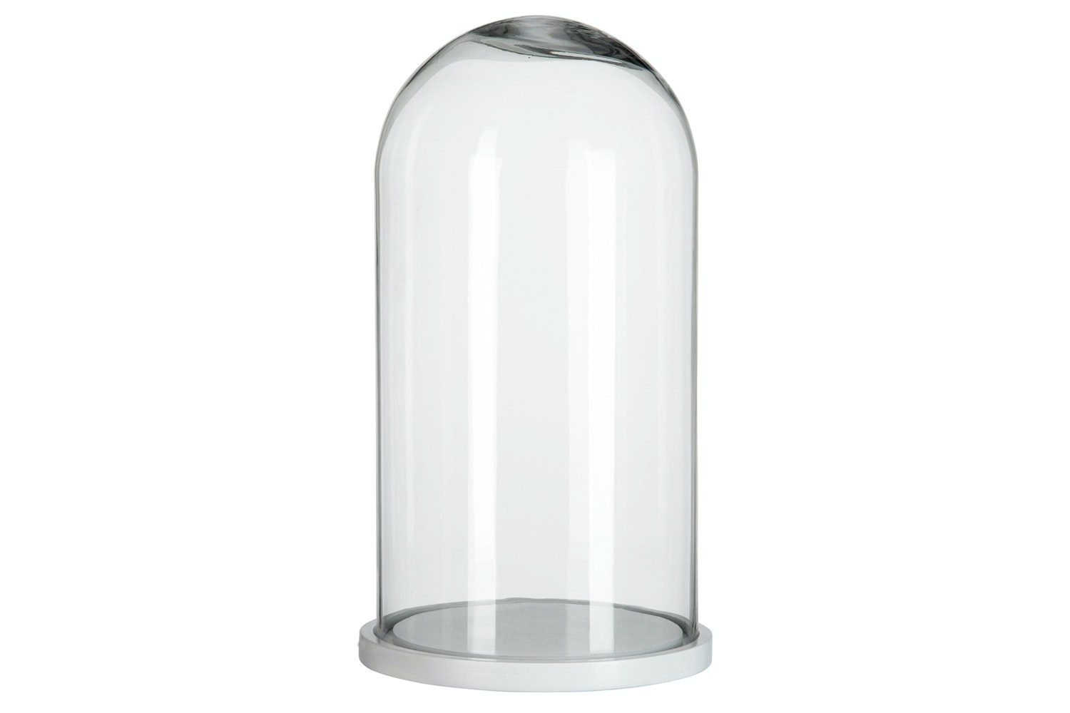 Glass Bell Round Dome | Large