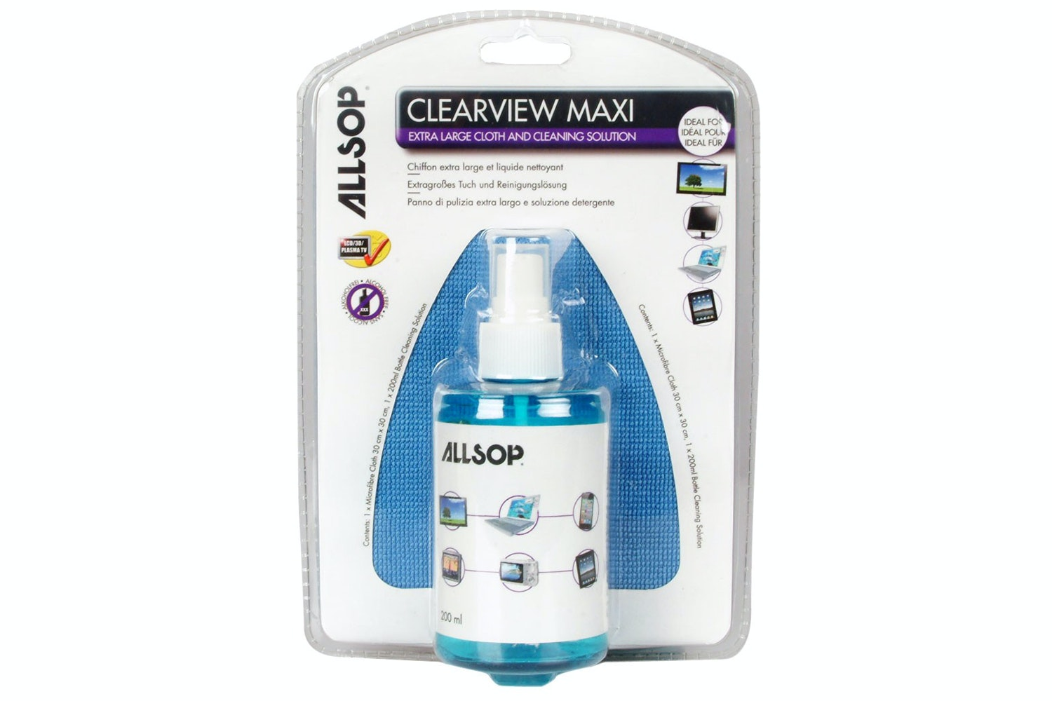 Allsop Cleaview Maxi Cleaning Solution