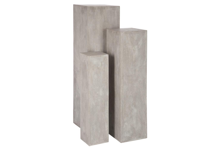 Rectangular Pillar | Grey | Medium