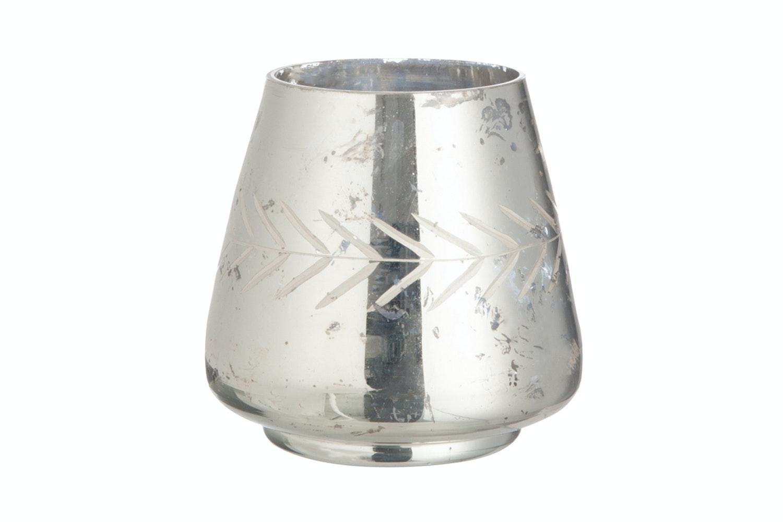 Tea-Light  Holder Mirror Glass | Small