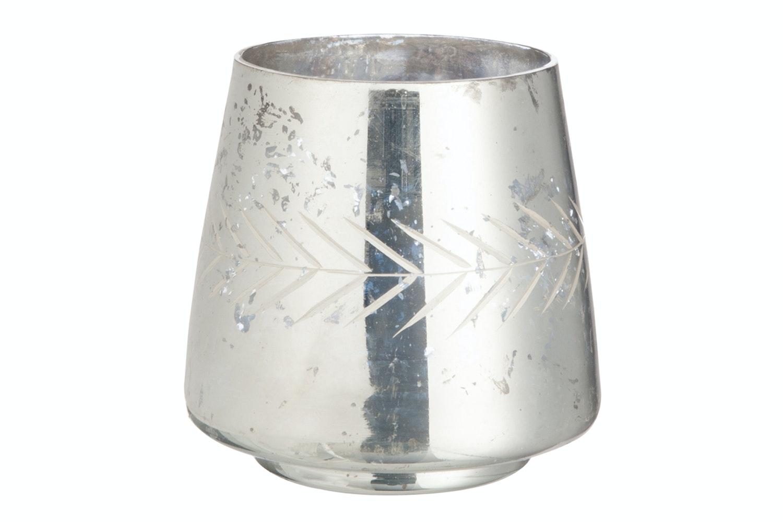 Tea-Light  Holder Mirror Glass | Large