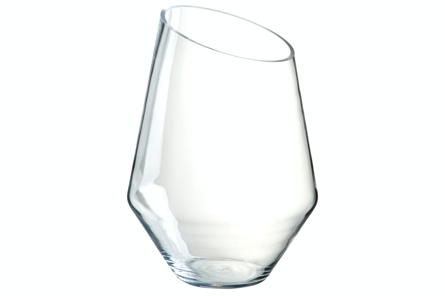 Hurricane Glass Slant |  Large