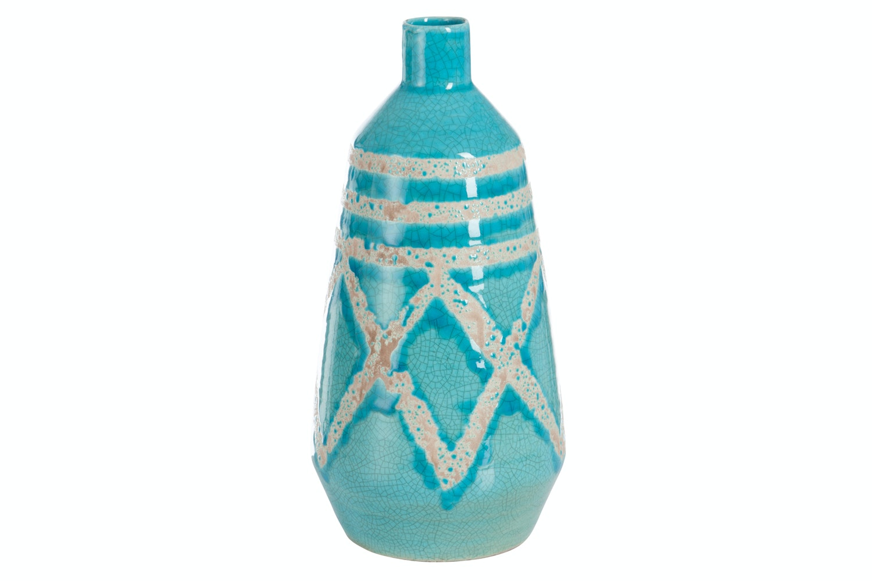 Vase Mexico Terrac Blue