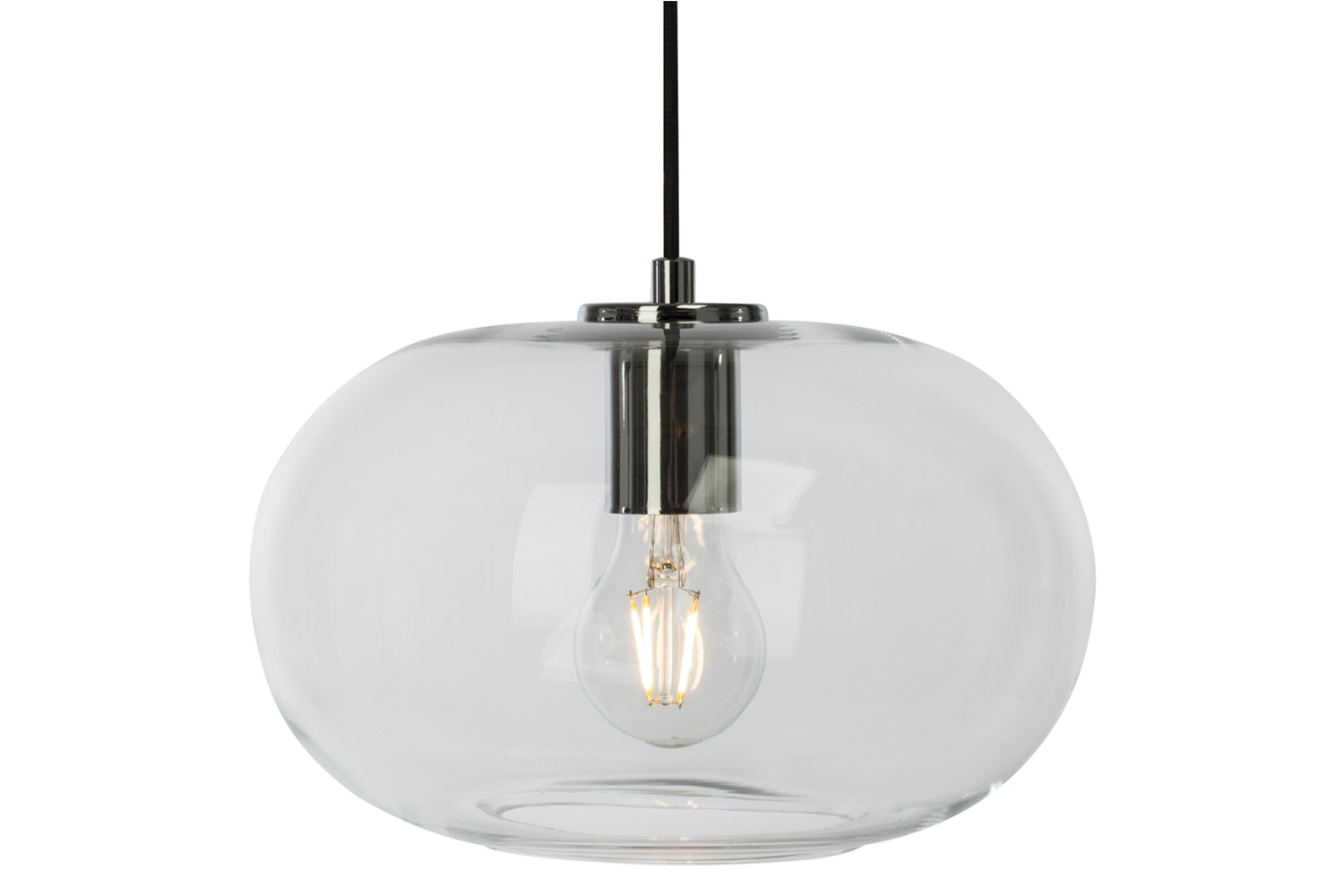 Sandness Ceiling Light Smoked Glass