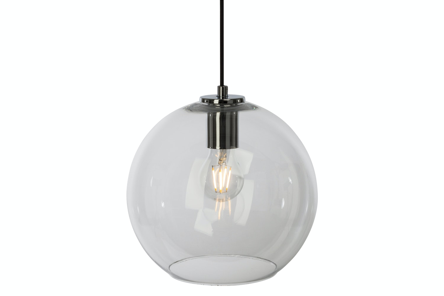 Stockholm Clear Glass Ceiling Light