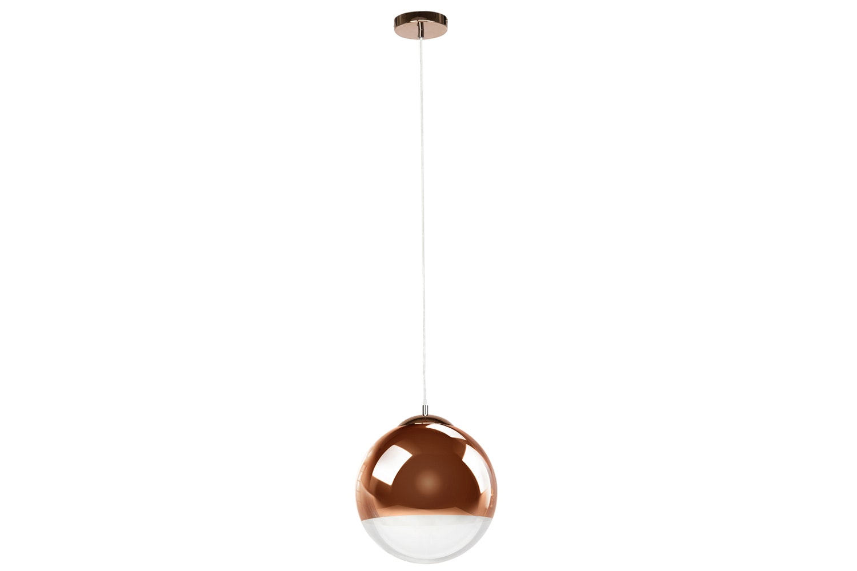Sid Ceiling Light Copper Glass