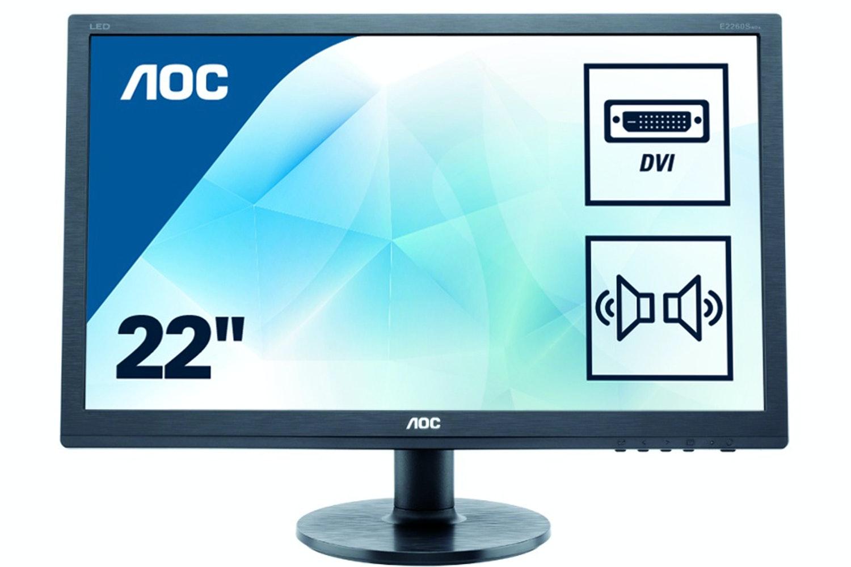 "AOC 21.5"" LED Monitor | Black"