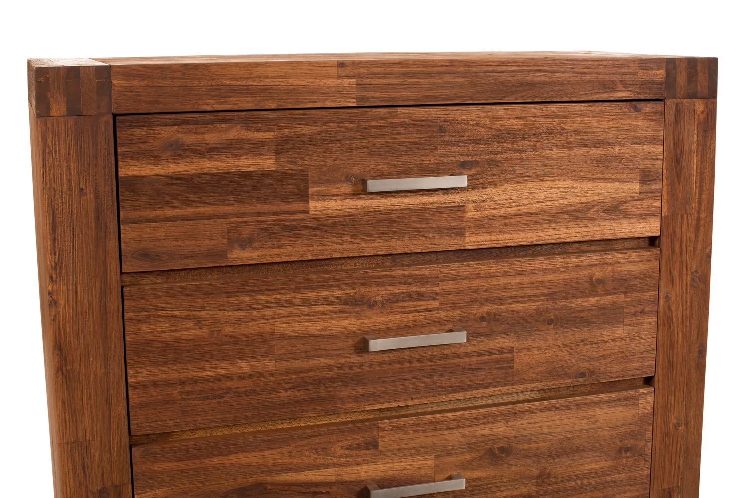 Kenny 4 Drawer Chest | Brushed Cognac