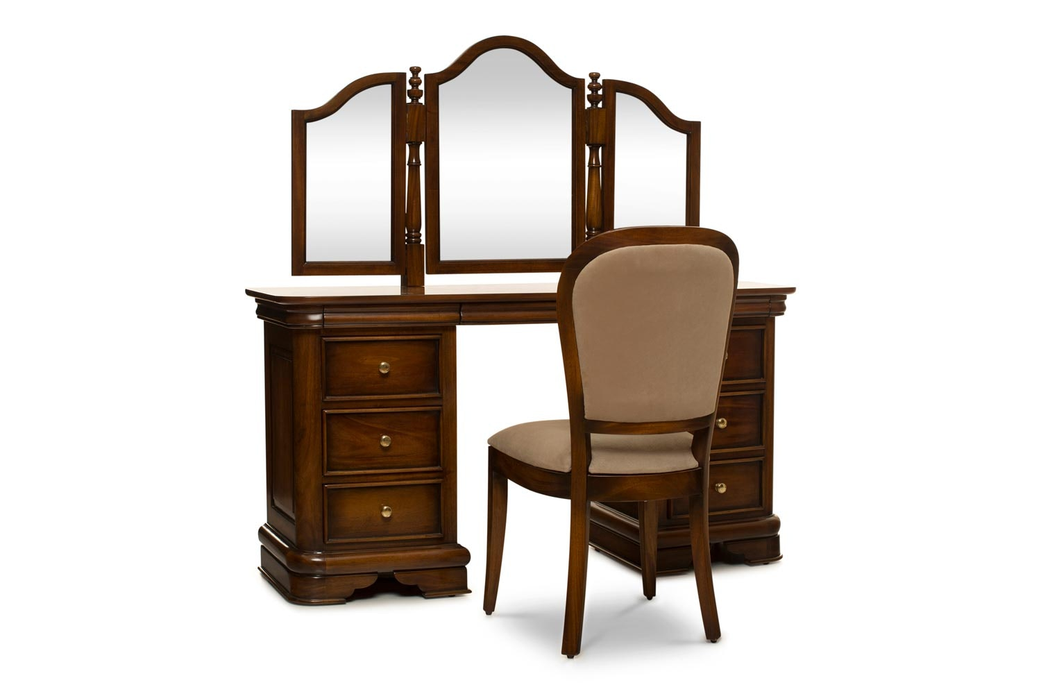 Barouge Dressing Table 9 Drawer|Bedroom Chair