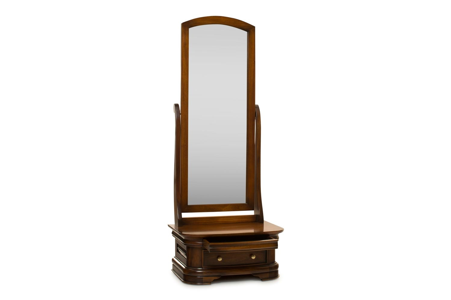 Barouge Cheval Mirror | 2 Drawer