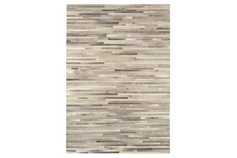 Gaucho Stripe Rug In Light Grey | 200 X 300