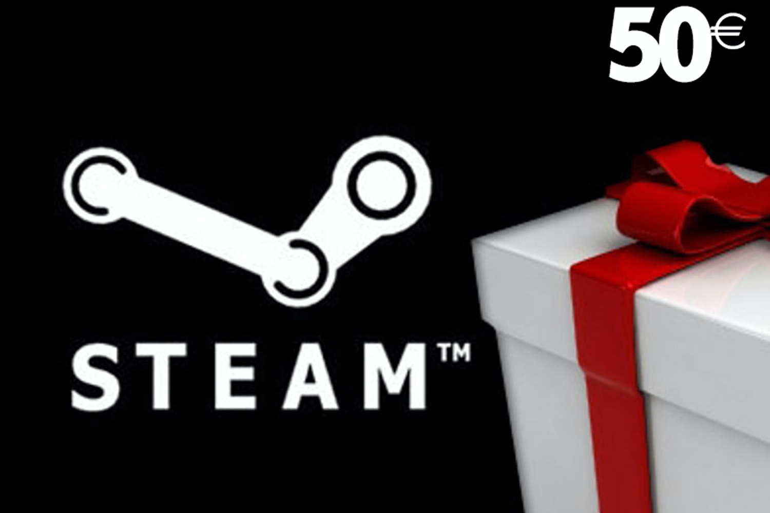 Steam Wallet Gift Card | €50