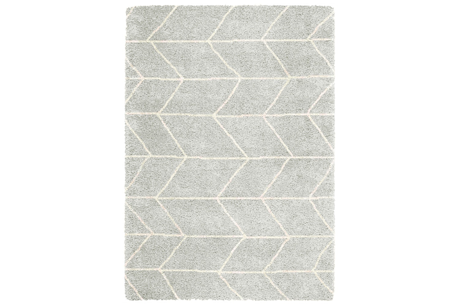 Logan Grey With White Lines Rug |120X170 | Lg03