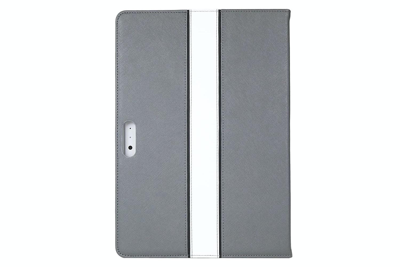 Maroo Leather Surface Pro Folio Case | Grey