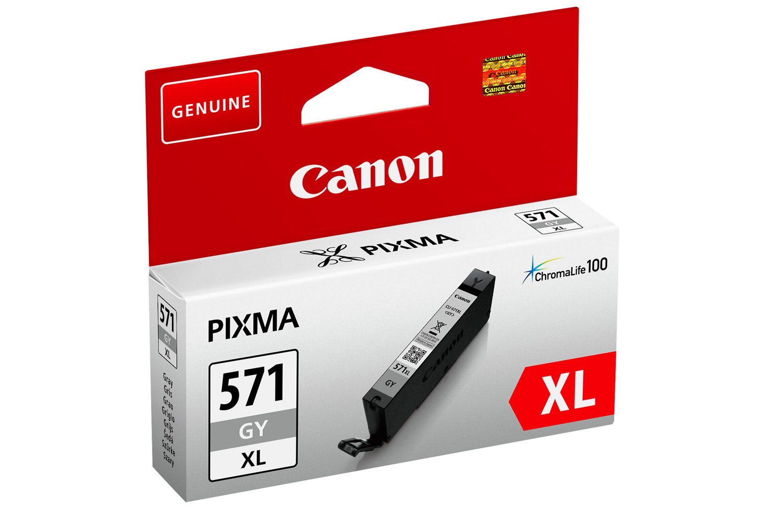 Canon CLI-571XL Grey Ink