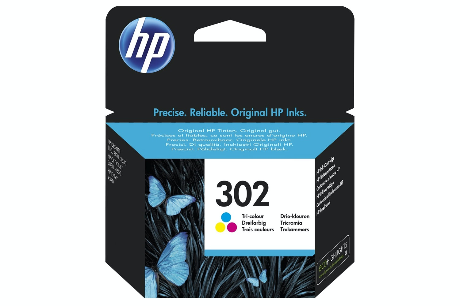 HP 302 Colour Ink