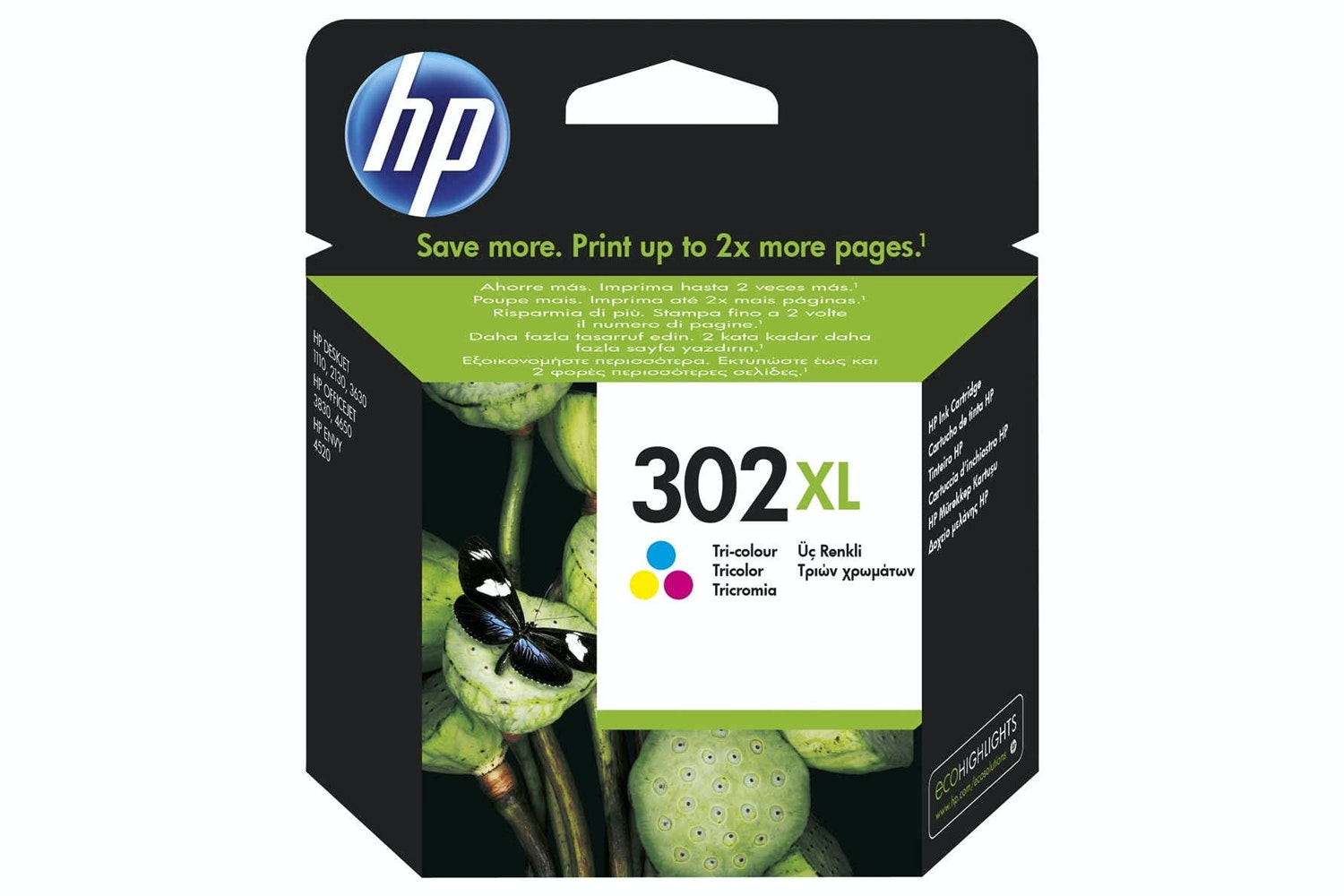 HP 302XL Tricolour Ink