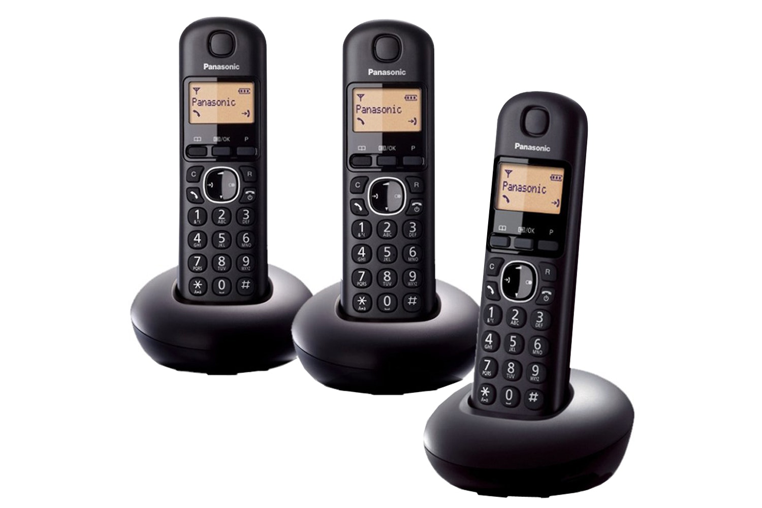 Panasonic Trio Cordless Home Phone | KX-TGB213