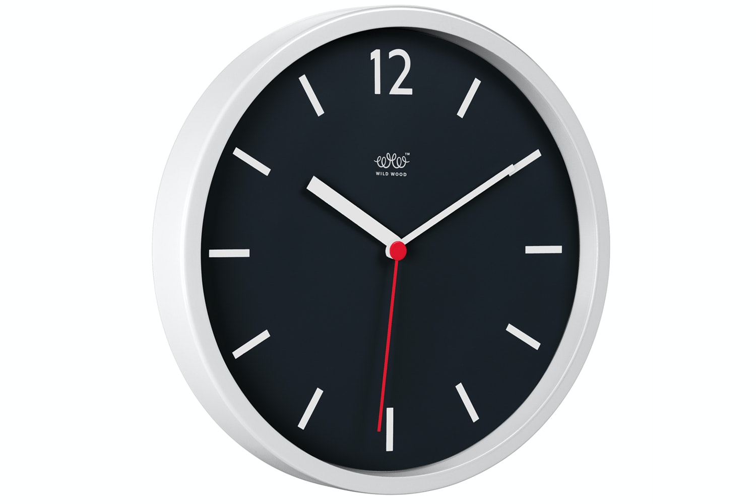 Arctic White Wall Clock
