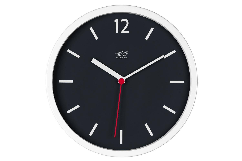 Arctic White Wall Clock