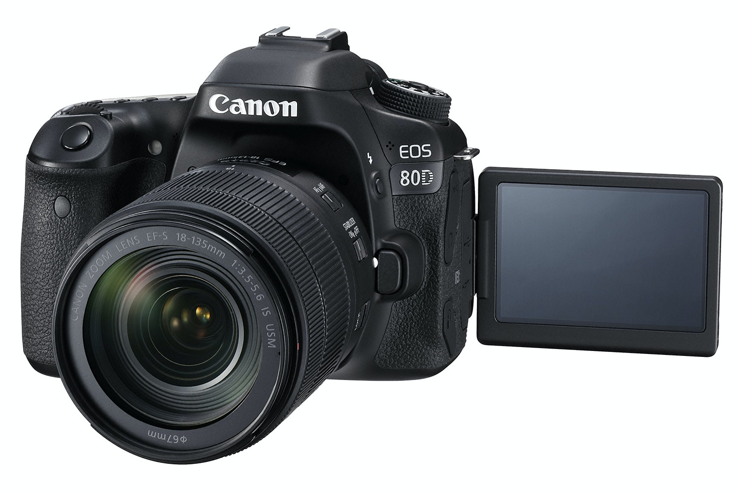 Canon EOS 80D & 18-135mm IS USM Lens