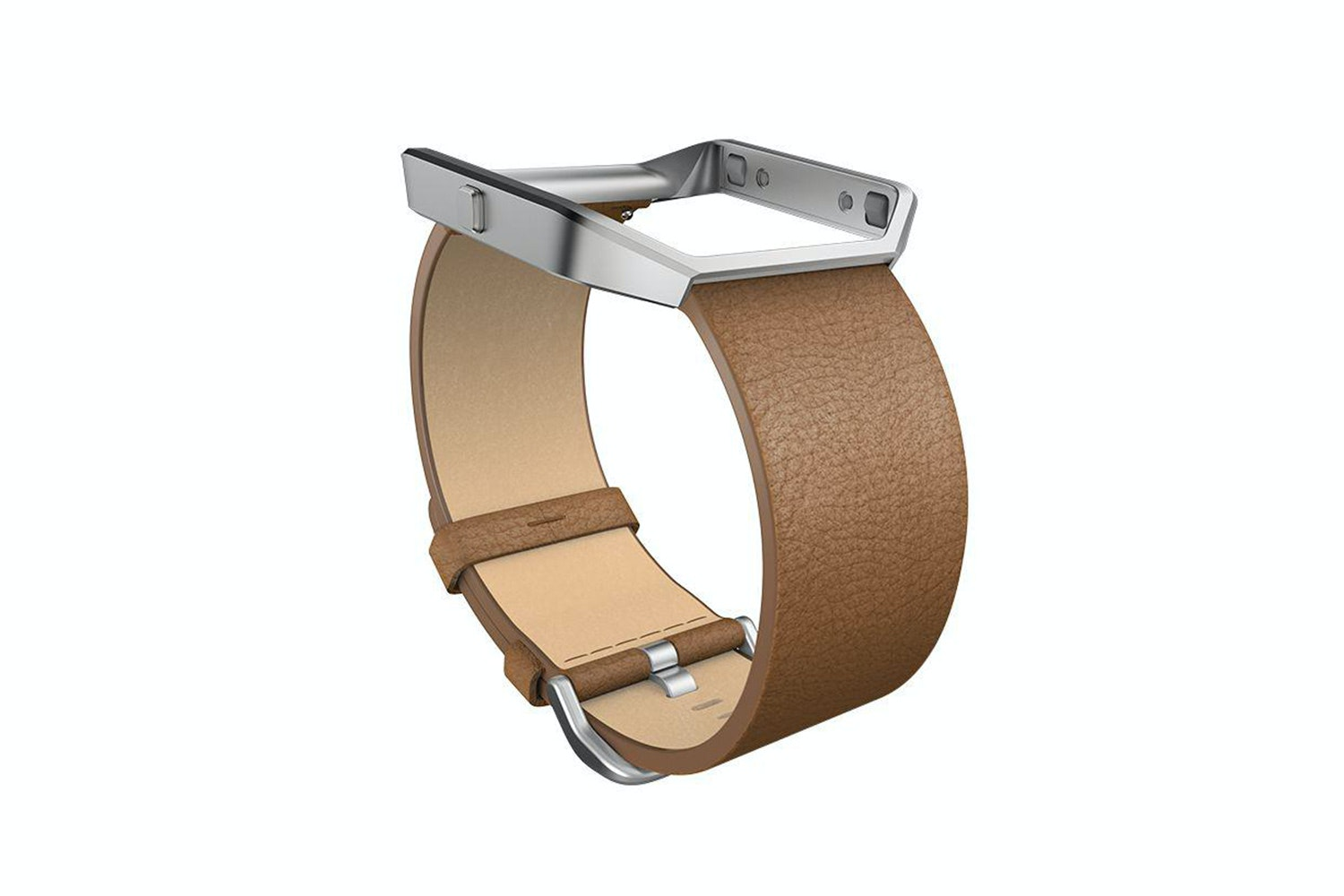 Fitbit Blaze Leather Band | Camel Leather | Large