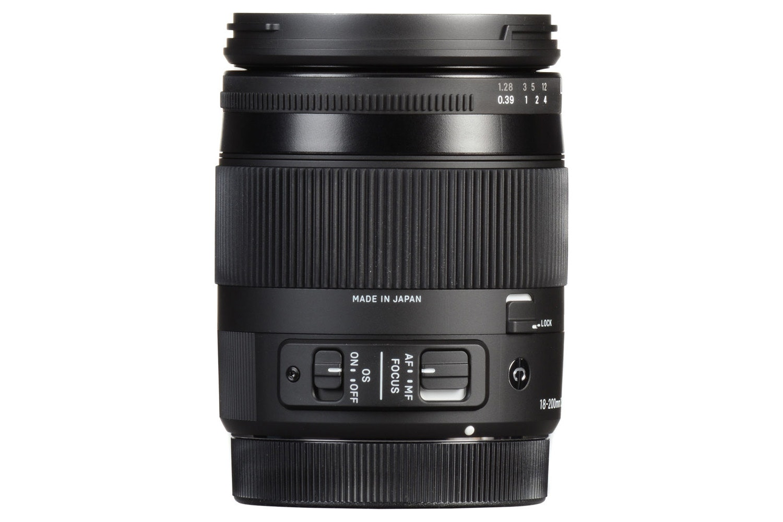 Sigma 18-200mm II DC OS lens for Nikon