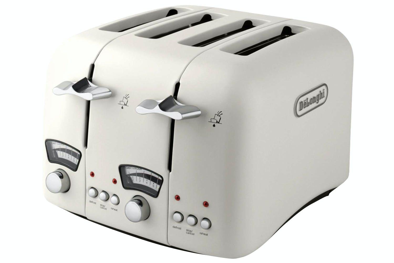 Delonghi Argento 4 Slice Toaster