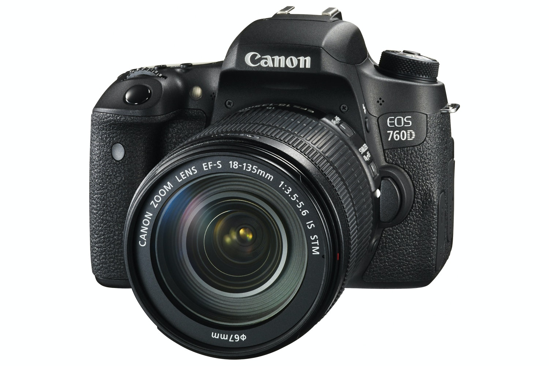 Canon EOS 760D & 18-135mm IS STM Lens