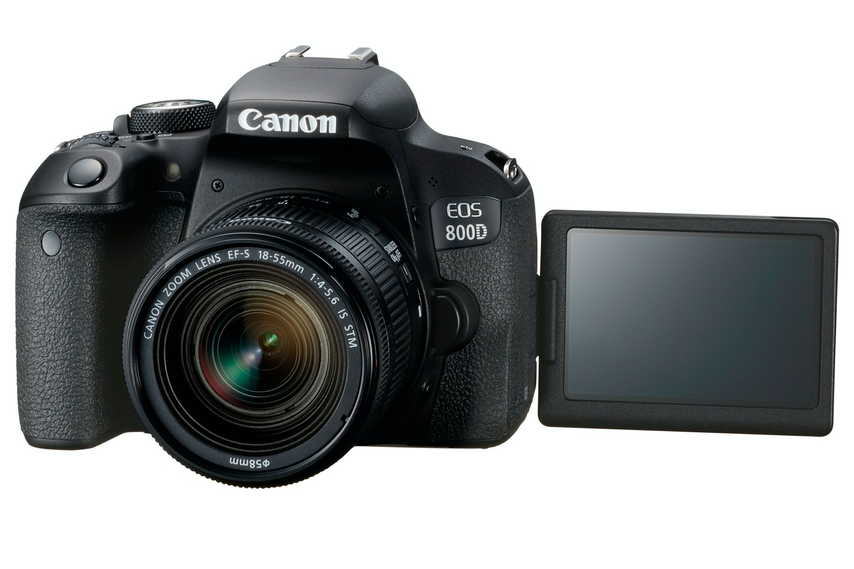 Canon EOS 800D & 18-55mm IS STM Lens