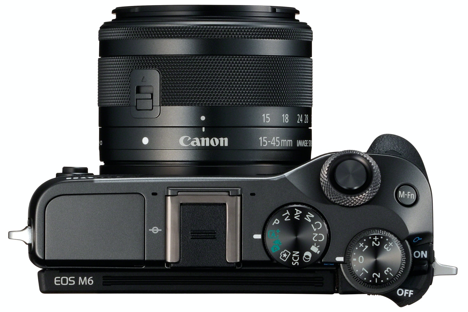 Canon EOS M6 & 15-45mm IS STM Lens