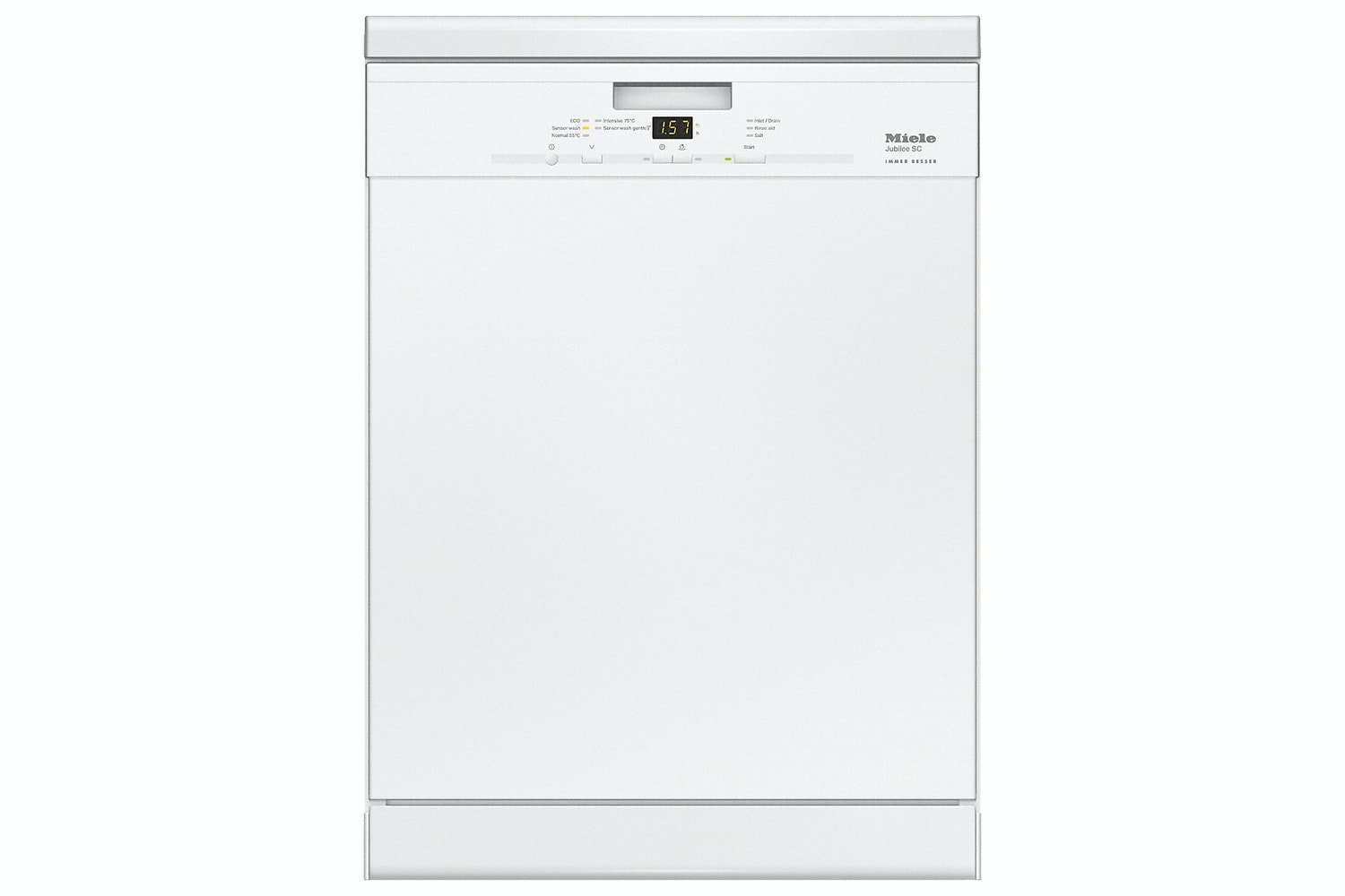 Miele G 4940 Front Jubilee  Freestanding dishwashers   Delay start and countdown indicator for great entry-level value