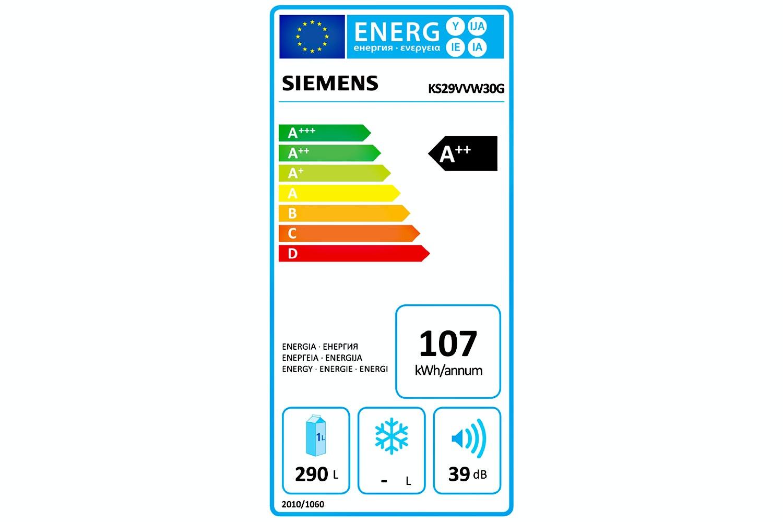 Siemens IQ300 Fridge Freezer | KS29VVW30G