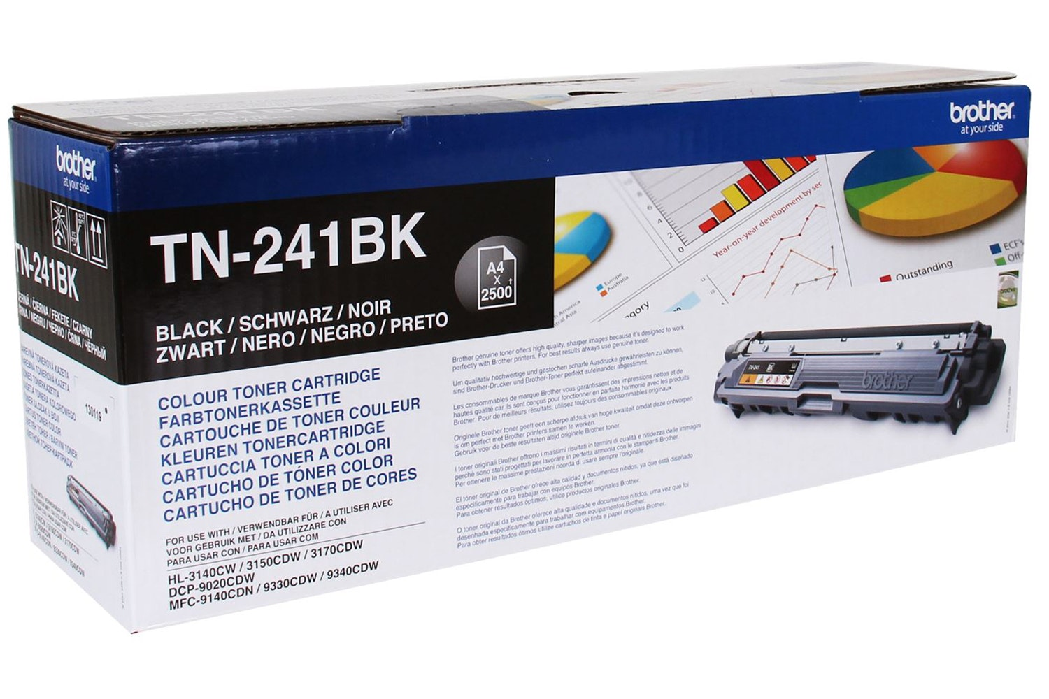Brother TN241BK Toner | Black