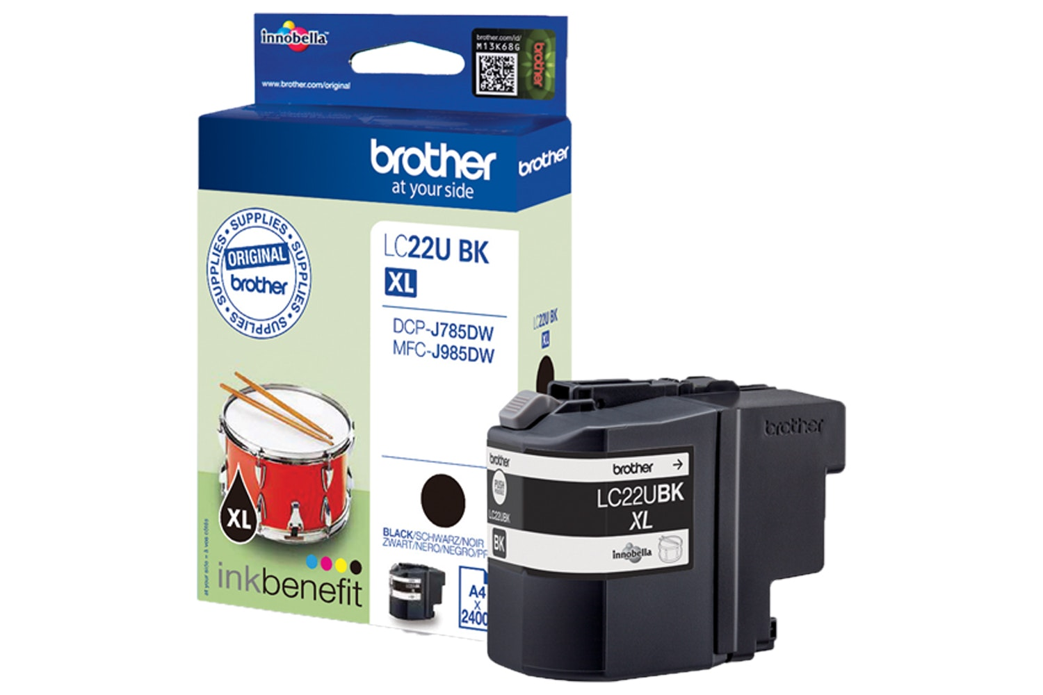 Brother LC22UBK | Black Ink