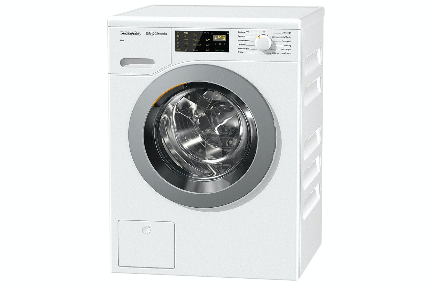 Miele  WDB020 Eco W1 Classic front-loading washing machine   for 1-7 kg of laundry with reliable Miele quality at an attractive price