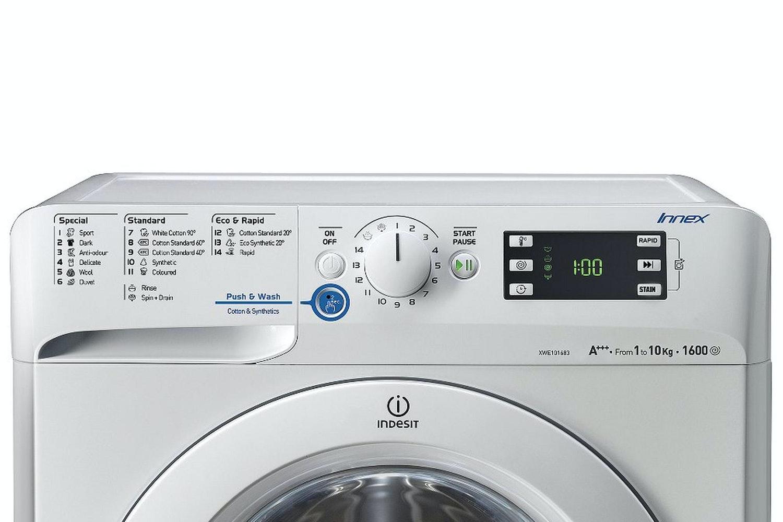 Indesit 10Kg 1600 Spin Washer | XWE101683