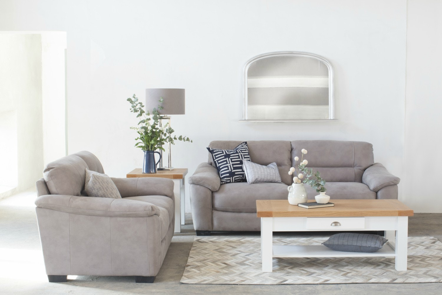 Becky 3 Seater | Grey