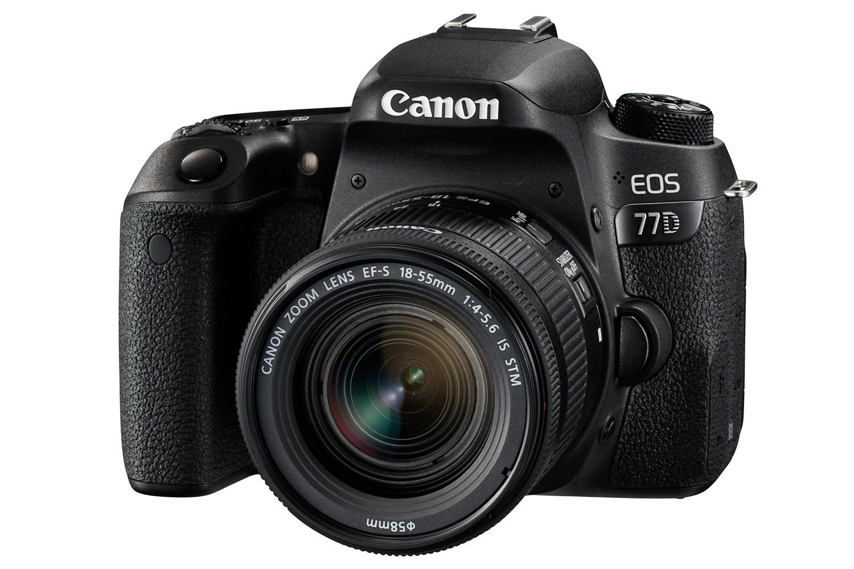 Canon EOS 77D & 18-55mm IS STM Lens
