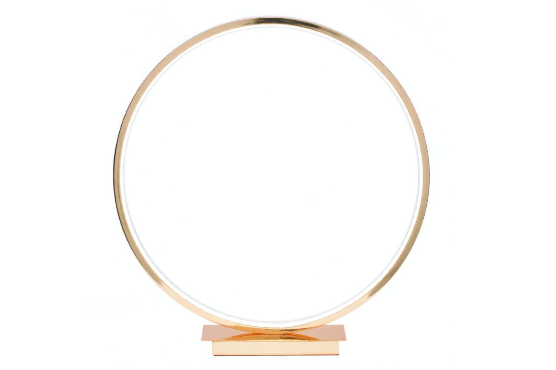 Gold Led Circle Table Lamp Ireland