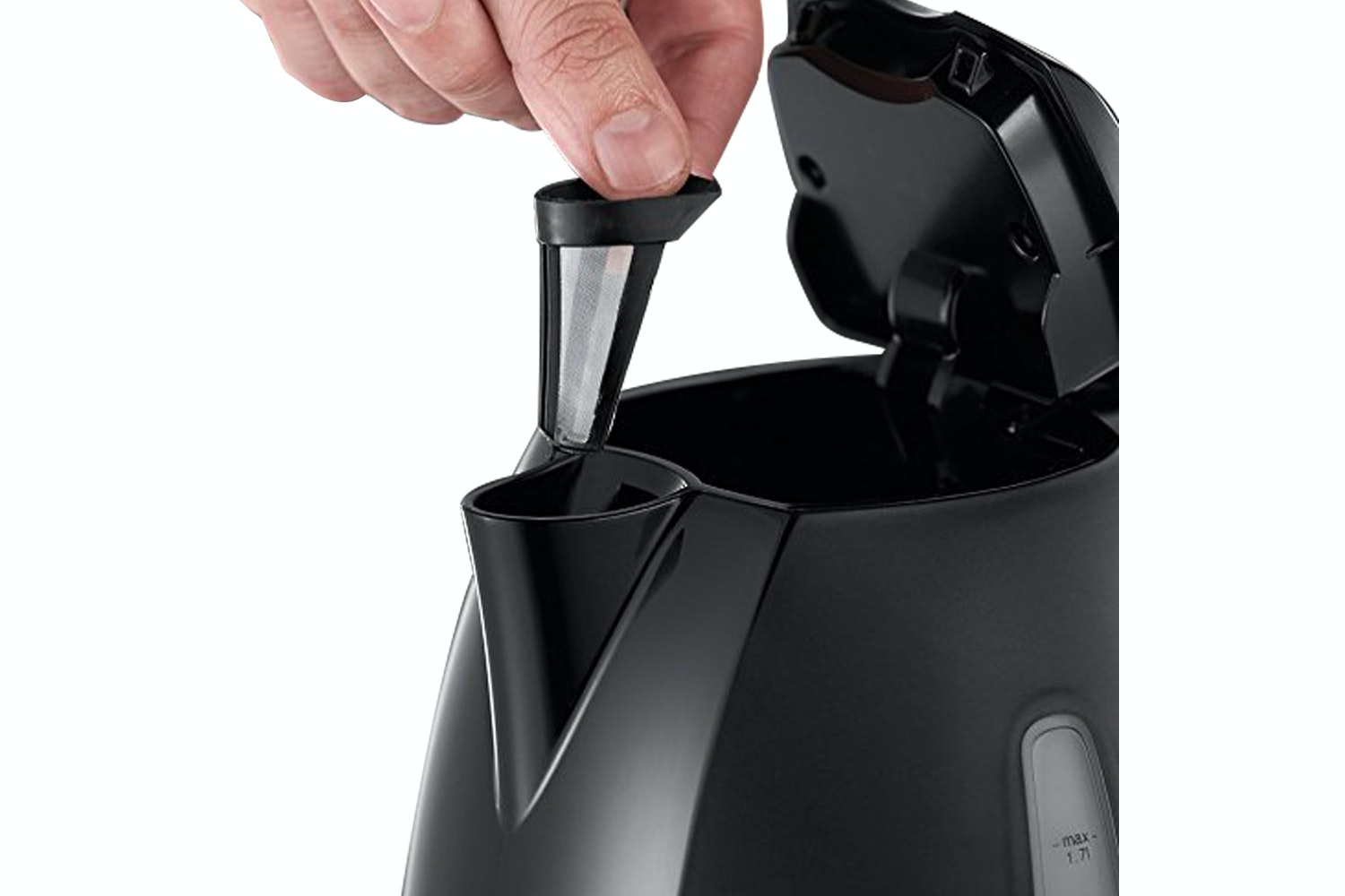 Russell Hobbs 1.7L Textures Kettle | Black