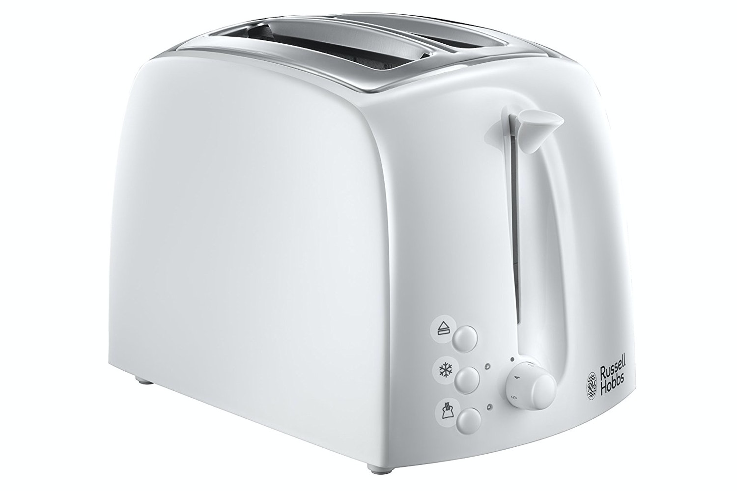 Russell Hobbs Textures 2 Slice Toaster | White