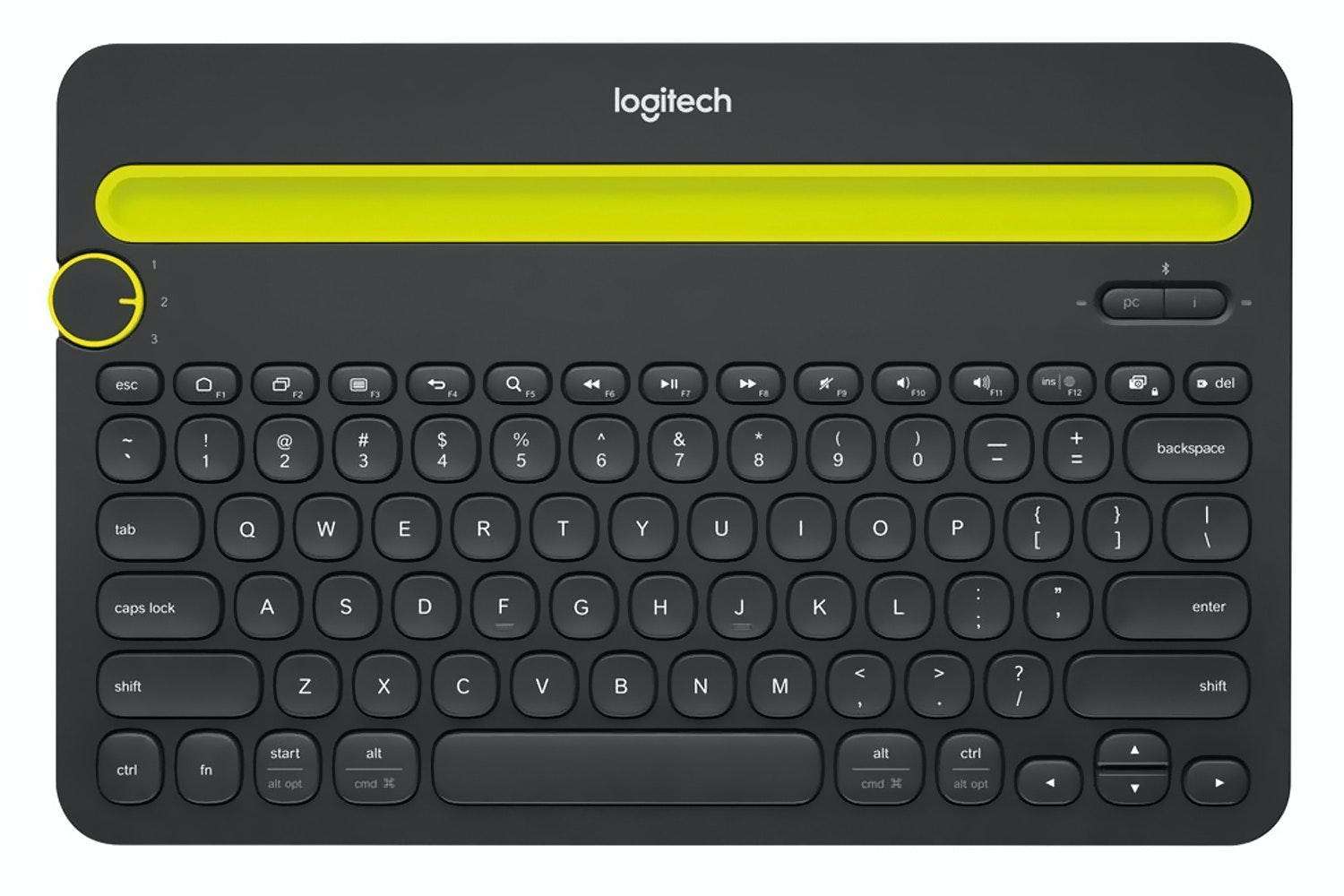 Logitech K480 Keyboard | Black